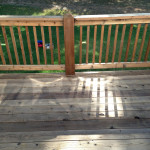 Before - Deck Staining Services